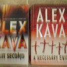 Alex Kava lot of 2 pb mystery suspense thriller books Maggie O'Dell