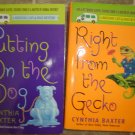 Cynthia Baxter lot of 2 pb mystery cozy books Reigning Cats & Dogs Jessica Popper