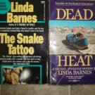 Linda Barnes lot of 2 pb mystery books Boston