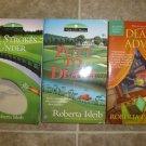Roberta Isleib lot of 3 pb mystery books cozy Golf Lovers Advice Column