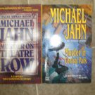 Michael Jahn lot of 2 pb mystery books Bill Donovan New York City