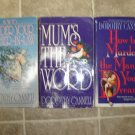 Dorothy Cannell lot of 3 pb mystery books cozy Ellie Haskell comic romantic