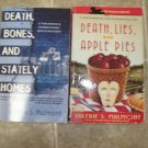 Valeries S Malmont lot of 2 pb cozy mystery books Tori Miracle Pennslyvania Dutch