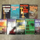 Rick Boyer lot of 9 pb mystery Doc Adams hard boiled noir