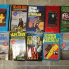 Stephen Greenleaf lot of 10 pb mystery books hard boiled John Marshall Tanner