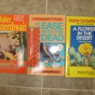 Walter Satterthwait lot of 3 pb mystery Joshua Croft Santa Fe New Mexico