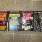 William G Tapply lot of 4 pb mystery books Brady Coyne Boston