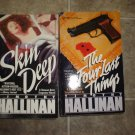 Timothy Hallinan lot of 2 pb mystery books Simeon Grist