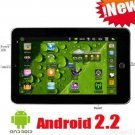 "7"" Android Tablet PC OS 2.2 Free Shipping"