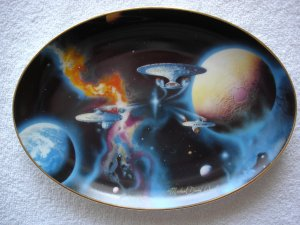 Star Trek To Boldly Go Plate