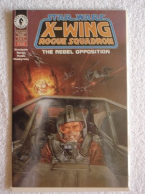 Star Wars X-Wing Rogue Suadron: The Rebel Opposition #3