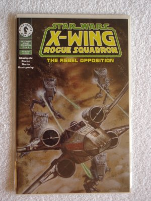 Star Wars X-Wing Rogue Suadron: The Rebel Opposition #2