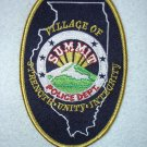 Summit Police Department patch