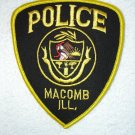 Macomb Police Department patch