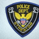 Streator Police Department patch