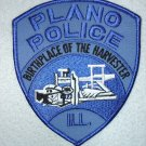 Plano Police Department patch