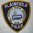 Plainfield Police Department patch