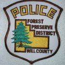 Will County Forest Preserve Police Department patch