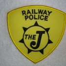 "The ""J"" Railway Police patch"