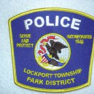Lockport Township Park District Police Department patch