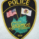 Sycamore Police Department patch