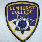 Elmhurst College Police patch