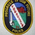 Yorkville Police Department patch