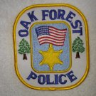 Oak Forest Police Department patch