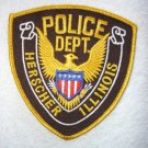 Herscher Police Department patch