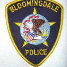 Bloomingdale Police Department patch