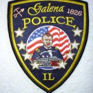 Galena Police Department patch