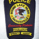 Round Lake Park - Hainesville Police Department patch