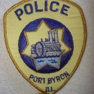 Port Byron Police Department patch