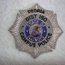 Peoria District 150 Campus Police patch