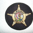Elmhurst Police Department patch