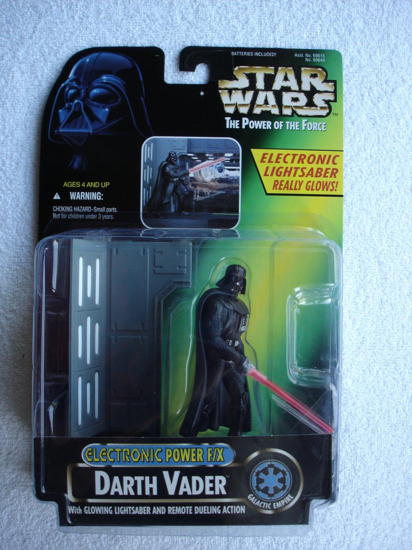 Star Wars POTF Electronic Power F/X Darth Vader