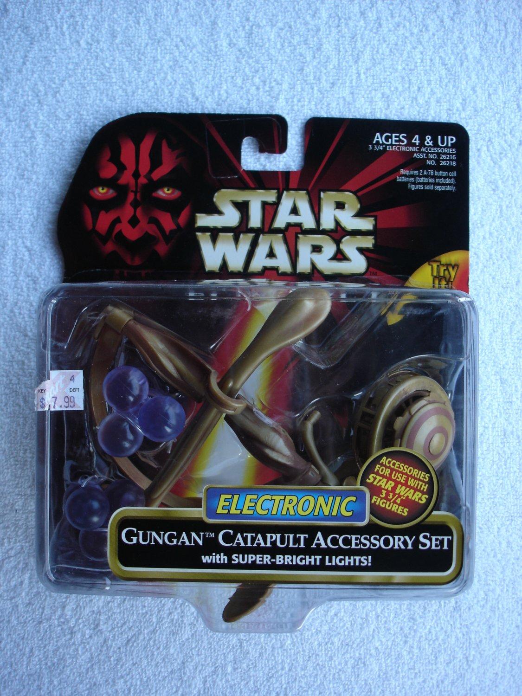 Star Wars TPM Electronic Gungan Catapult Accessory Set