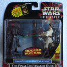 Star Wars TPM Deluxe Darth Maul vs. Obi-Wan Kenobi