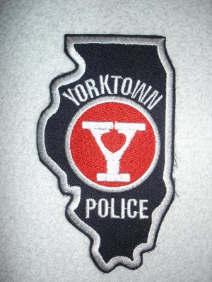 Yorktown Mall Police patch