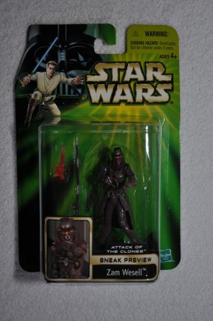 Star Wars POTJ/AOTC Zam Wesell (Sneak Preview)
