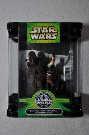 Star Wars POTJ Han Solo & Chewbacca
