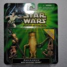 "Star Wars POTJ ""Fan's Choice"" Amanaman with Salacious Crumb"