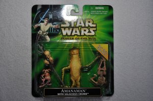 "Star Wars POTJ ""Fan's Choice"" Amanaman with Salacious Crumb"