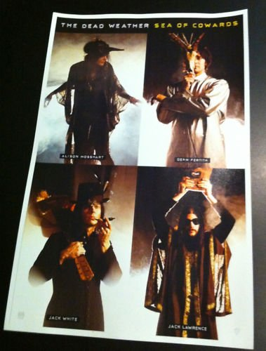 The Dead Weather Sea of Cowards Rare Promo Poster
