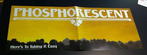 Phosphorescent Rare Promo Poster