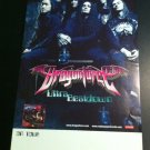 Dragonforce Ultra Beatdown Rare Promo 2 Sided Poster