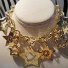 Gold Plated Star Charm Bracelet