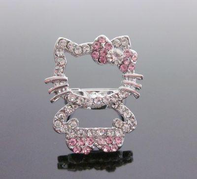 Pink Hello Kitty Full Body Ring