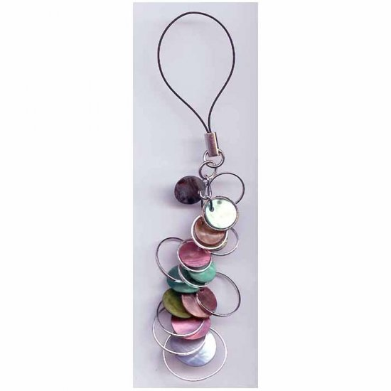 Fashion  jewelry - Colourful cell phone charm strap by Lucine