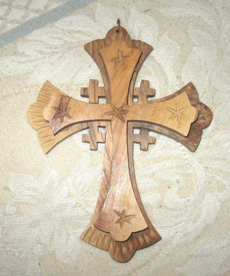 Wooden Cross - from Jerusalem - FREE sh/h